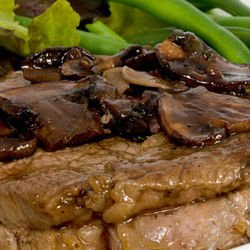 Pork Steaks with Sauce