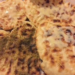 Easy Flatbread on a Grill Pan