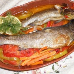 Uniquely Tasty Trout in a Baking Bag