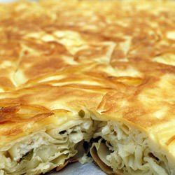 Bathed Turkish Phyllo Pastry