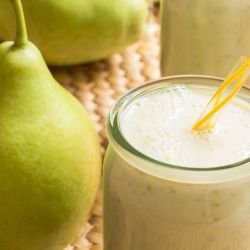 Easy Pear Milkshake