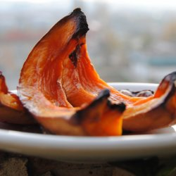 Roasted Pumpkin with the Skin