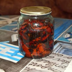 Roasted Red Peppers in Jars