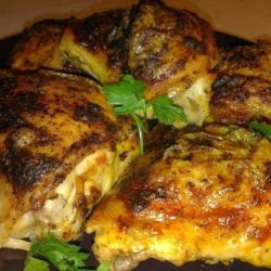 Baked Chicken with Fragrant Spices