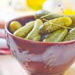 Greek-Style Pickled Gherkins
