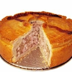 Quebec Pie with Beef and Pork