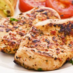Marinated Chicken Steaks