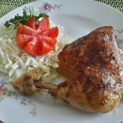 Aromatic Chicken Legs in the Oven