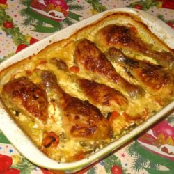 Spectacular Chicken with Cream Sauce