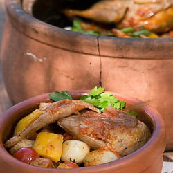 Delicious Chicken in a Clay Pot