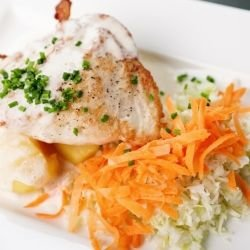 Chicken with Potatoes and Cream