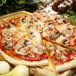 Pizza with Mixed Dough