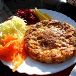 Serbian Patties with Cheese