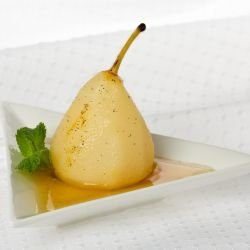 Pears with Ginger and Star Anise