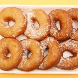 Vanilla Donuts with Lemon