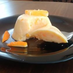 Orange Cream with Yoghurt