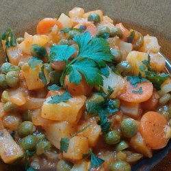 Lean Peas, Carrots and Potato Stew