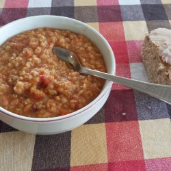 Lean Red Lentils with Red Onions