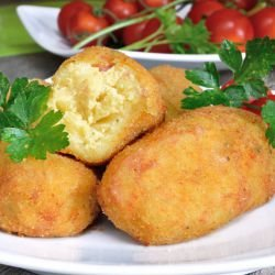 Potato Croquettes with Nutmeg