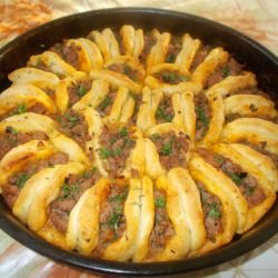 Portioned Holiday Pita with Mince