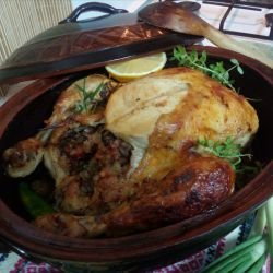 Stuffed Holiday Chicken