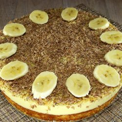 Pudding Cake with Walnut Layer