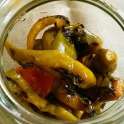 Toasty Peppers in Brine