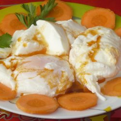 Poached Eggs with Garnish