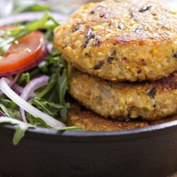 Quinoa Patties with Olives