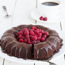 Cocoa Cake without Eggs