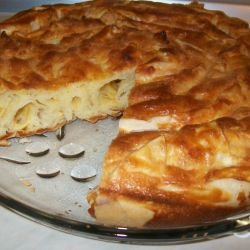 New Year`s Phyllo Pastry