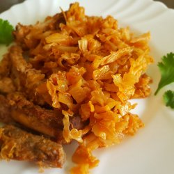 Exquisite Pork Ribs with Sauerkraut