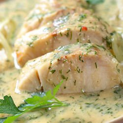 St. Nicholas` Day Fish Fillet with Fine Sauce