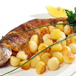 Fish with Fresh Potatoes