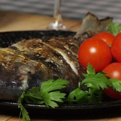 Trout with Tomatoes