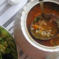 Rich and Tasty Fish Soup
