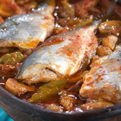 Hake with Vegetables
