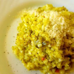 Lean Risotto with Fresh Garlic
