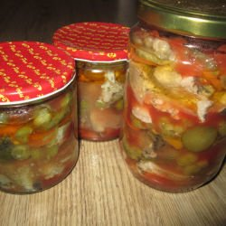 Canned Ropotamo with Mackerel