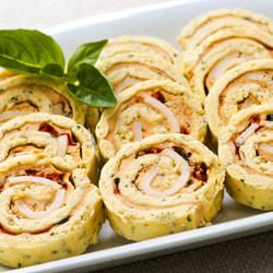 Potato Rolls with Mushrooms