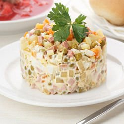 Real Russian Salad