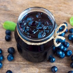 Blueberry Jam with Gelling Sugar