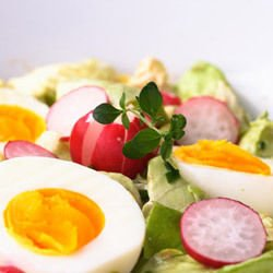 Egg Salad with Turnips