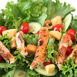 Marseille Salad with Chicken