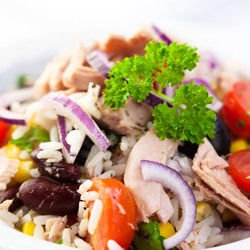 Rice Salad with Tuna