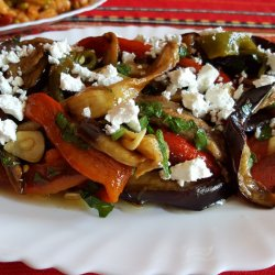 Pepper and Eggplant Salad