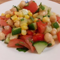 Egyptian Salad with Chickpeas