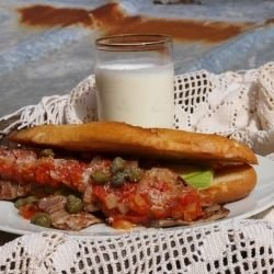 Beef Sandwiches with Bergamot and Appetizer