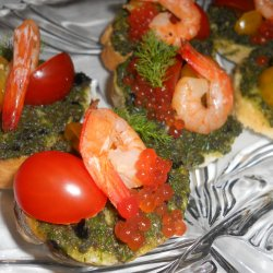 Mini Sandwiches with Pesto