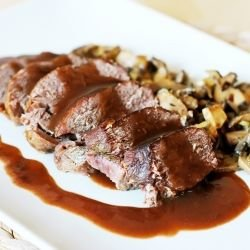 Venison with Mushrooms